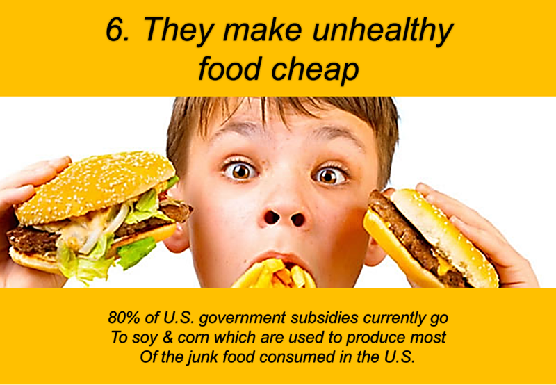 WHY WE EAT FOOD THAT'S BAD FOR US